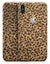 Custom Leopard Animal Print - iPhone X Skin-Kit