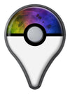 Dark 9711 Absorbed Watercolor Texture Pokémon GO Plus Vinyl Protective Decal Skin Kit