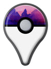 Dark Absorbed Watercolor Texture Pokémon GO Plus Vinyl Protective Decal Skin Kit