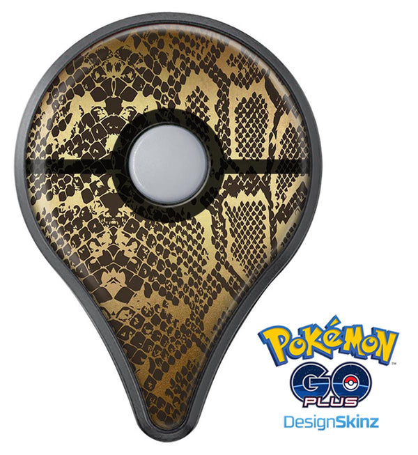 Dark Gold Flaked Animal v4 Pokémon GO Plus Vinyl Protective Decal Skin Kit