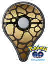 Dark Gold Flaked Animal v5 Pokémon GO Plus Vinyl Protective Decal Skin Kit