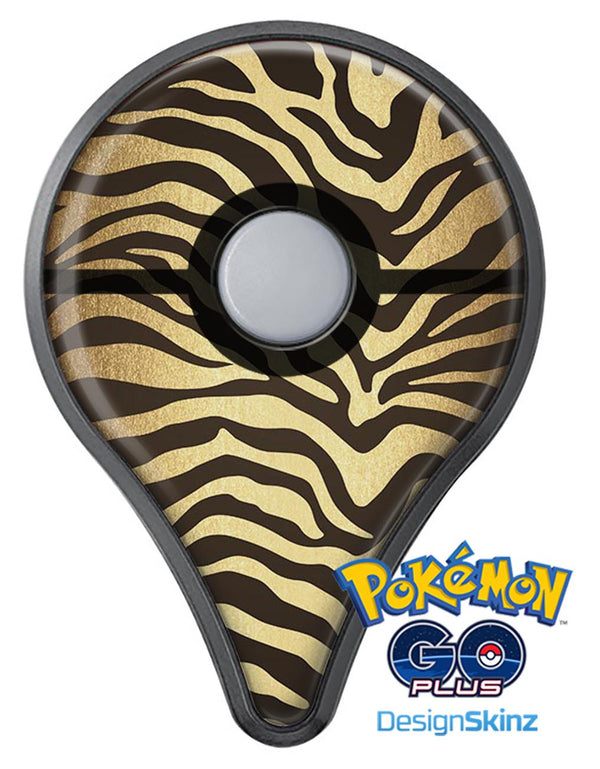 Dark Gold Flaked Animal v7 Pokémon GO Plus Vinyl Protective Decal Skin Kit
