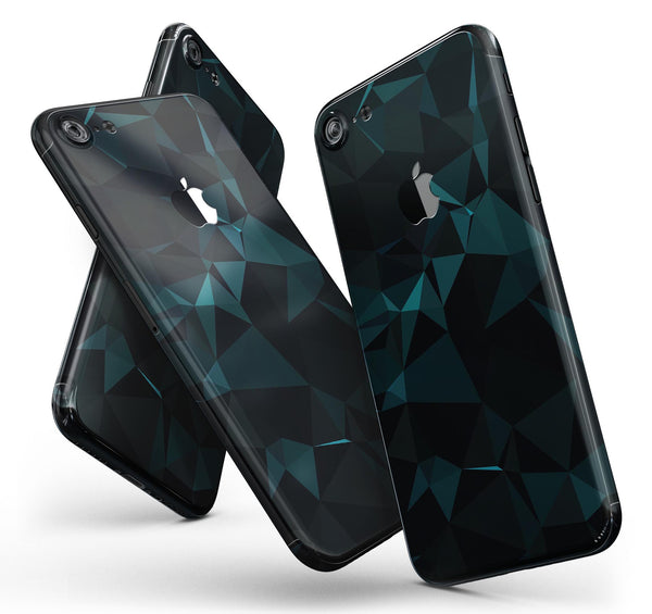 Dark_Green_and_Black_Geometric_Triangles_-_iPhone_7_-_FullBody_4PC_v11.jpg