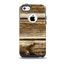 Dark Highlighted Old Wood Skin for the iPhone 5c OtterBox Commuter Case