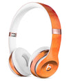 Dark Orange Absorbed Watercolor Texture Full-Body Skin Kit for the Beats by Dre Solo 3 Wireless Headphones