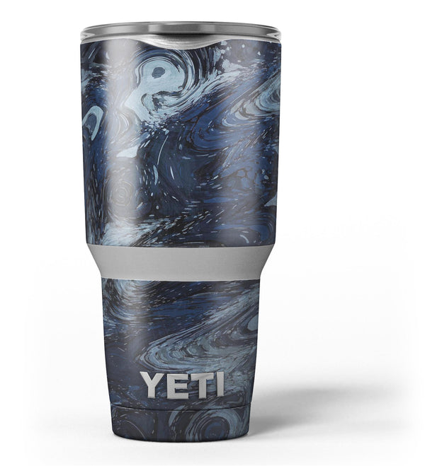 Dark Slate Marble Surface V32 Yeti Rambler Skin Kit