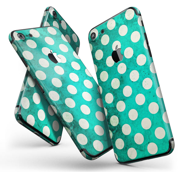 Dark_Teal_and_White_Polka_Dots_Pattern_-_iPhone_7_-_FullBody_4PC_v11.jpg