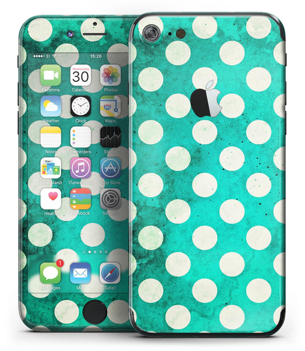 Dark_Teal_and_White_Polka_Dots_Pattern_-_iPhone_7_-_FullBody_4PC_v2.jpg