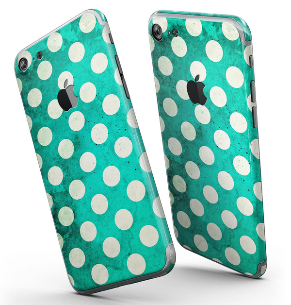 Dark_Teal_and_White_Polka_Dots_Pattern_-_iPhone_7_-_FullBody_4PC_v3.jpg