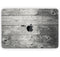 "Dark Washed Wood Planks - Skin Decal Wrap Kit Compatible with the Apple MacBook Pro, Pro with Touch Bar or Air (11"", 12"", 13"", 15"" & 16"" - All Versions Available)"