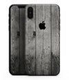 Dark Washed Wood Planks - iPhone XS MAX, XS/X, 8/8+, 7/7+, 5/5S/SE Skin-Kit (All iPhones Available)