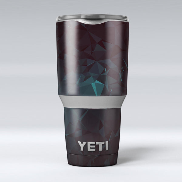 Deep_Sea_Teal_Geometric_Shapes_-_Yeti_Rambler_Skin_Kit_-_30oz_-_V1.jpg