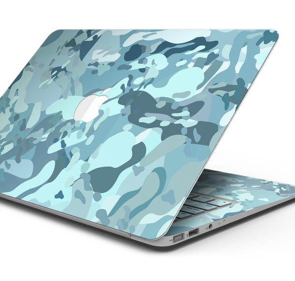 "Desert Sea Camouflage V2 - Skin Decal Wrap Kit Compatible with the Apple MacBook Pro, Pro with Touch Bar or Air (11"", 12"", 13"", 15"" & 16"" - All Versions Available)"