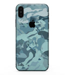 Desert Sea Camouflage V2 - iPhone XS MAX, XS/X, 8/8+, 7/7+, 5/5S/SE Skin-Kit (All iPhones Available)