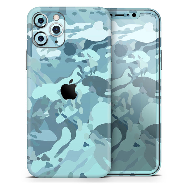 Desert Sea Camouflage V2 - Skin-Kit for the Apple iPhone 11, 11 Pro or 11 Pro Max