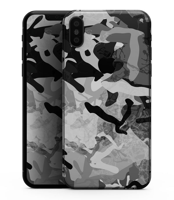 Desert Snow Camouflage V2 - iPhone XS MAX, XS/X, 8/8+, 7/7+, 5/5S/SE Skin-Kit (All iPhones Available)