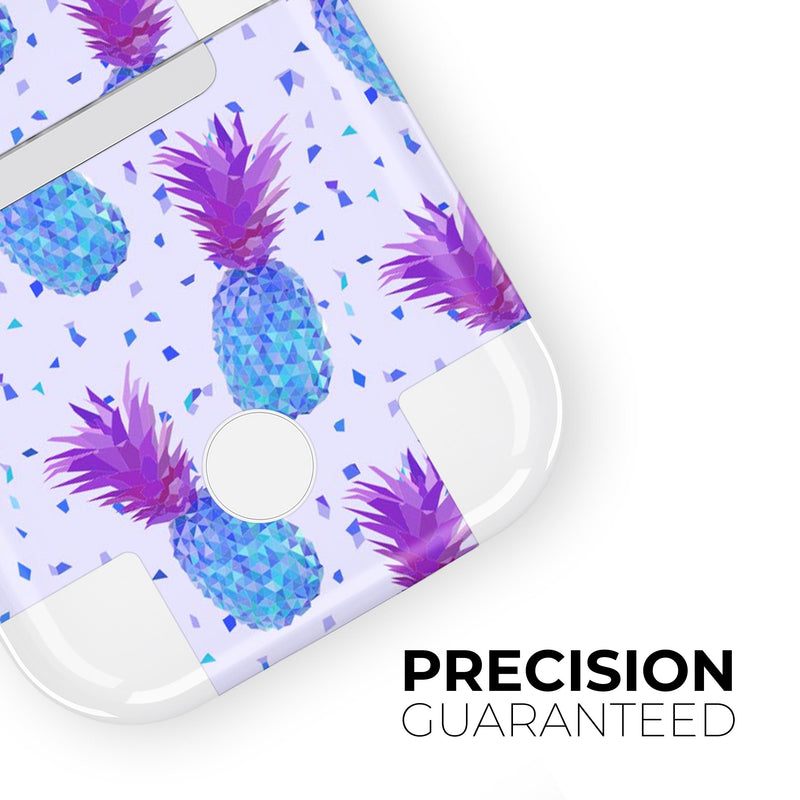 Disco Pineapple - Full Body Skin Decal Wrap Kit for the Wireless Bluetooth Apple Airpods Pro, AirPods Gen 1 or Gen 2 with Wireless Charging