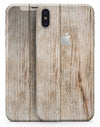 Dried Horizontal Wood Planks  - iPhone X Skin-Kit