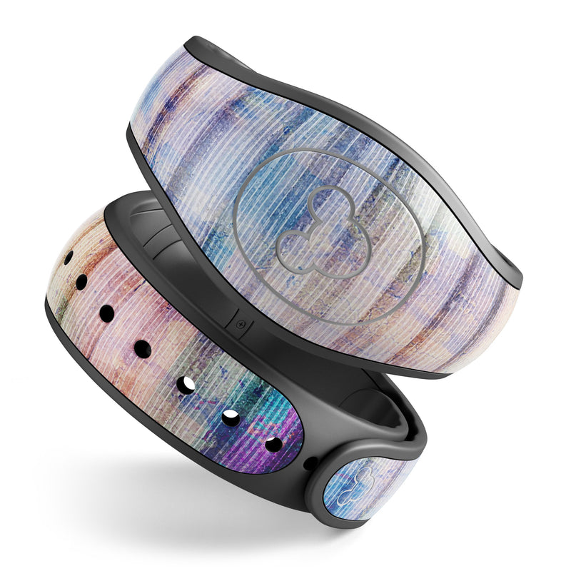 MagicBand 2.0 Skin Made in the USA Magic Band Decal Splatter Paint