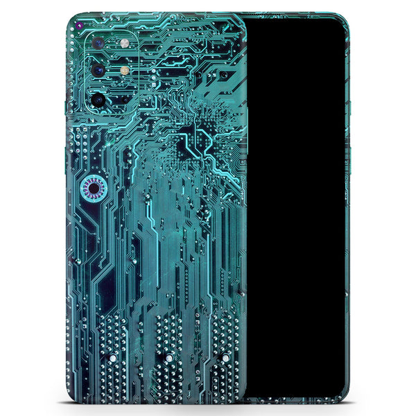 Electric Circuit Board V5 - Full Body Skin Decal Wrap Kit for OnePlus Phones