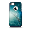 Electric Teal Volts Skin for the iPhone 5c OtterBox Commuter Case