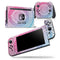 Ethnic Indian Tie-Dye Circle - Skin Wrap Decal for Nintendo Switch Lite Console & Dock - 3DS XL - 2DS - Pro - DSi - Wii - Joy-Con Gaming Controller