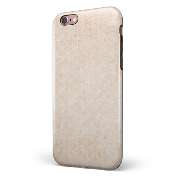 Faded Coral and White SunRise iPhone 6/6s or 6/6s Plus 2-Piece Hybrid INK-Fuzed Case