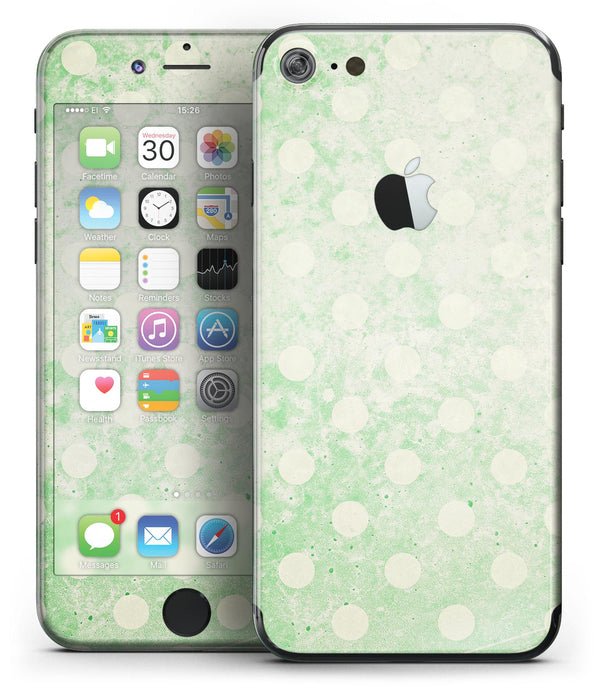 Faded_Grunge_Green_White_Polka_Dot_Pattern_-_iPhone_7_-_FullBody_4PC_v2.jpg