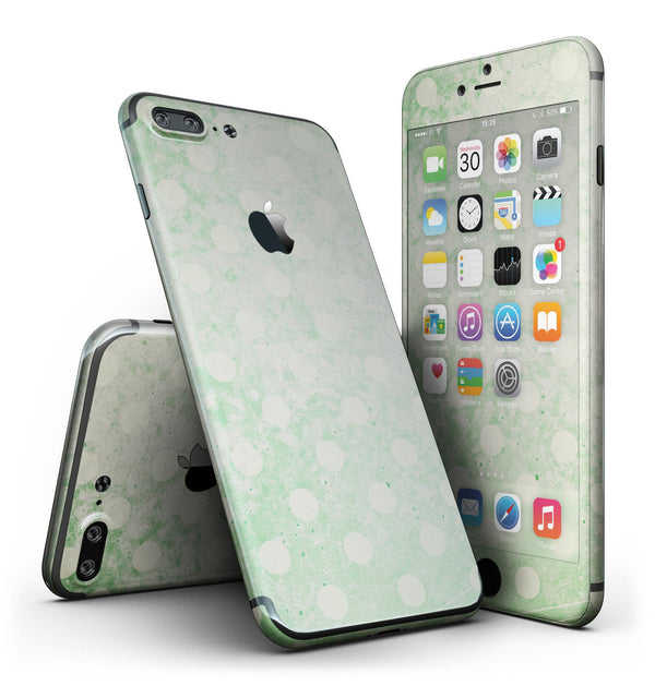 Faded_Grunge_Green_White_Polka_Dot_Pattern_-_iPhone_7_Plus_-_FullBody_4PC_v2.jpg
