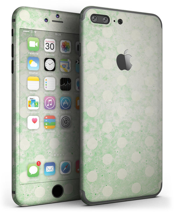 Faded_Grunge_Green_White_Polka_Dot_Pattern_-_iPhone_7_Plus_-_FullBody_4PC_v3.jpg
