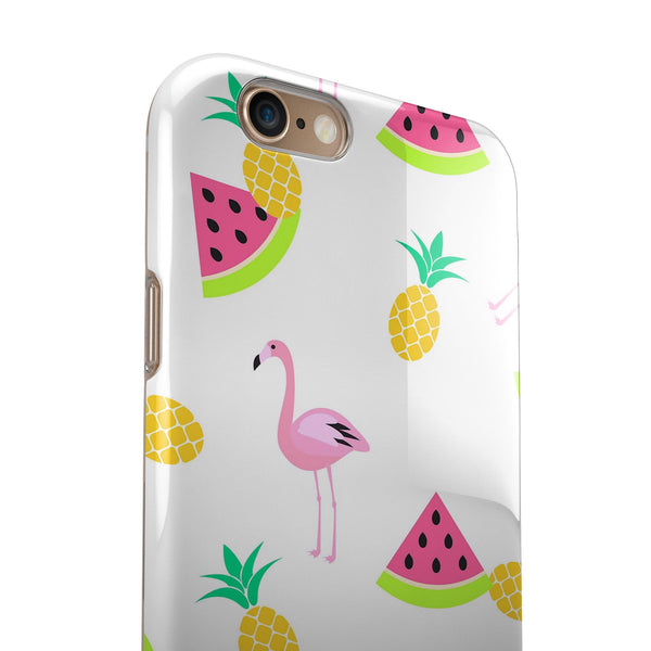 Flaminos Fun and Fruit iPhone 6/6s or 6/6s Plus 2-Piece Hybrid INK-Fuzed Case