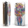 Flourished Sacred Elephant iPhone 6/6s or 6/6s Plus 2-Piece Hybrid INK-Fuzed Case
