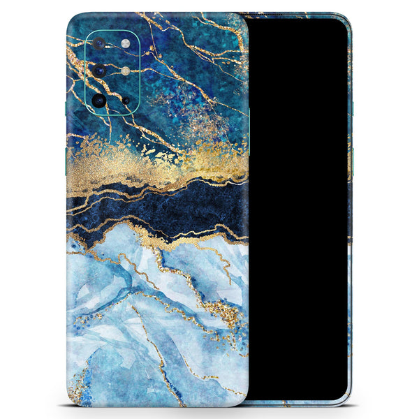 Foiled Marble Agate - Full Body Skin Decal Wrap Kit for OnePlus Phones