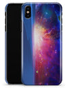 Galaxy Explosion over Calm Sea Shore - iPhone X Clipit Case
