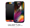 Vibrant Feather Skin for the Galaxy S4