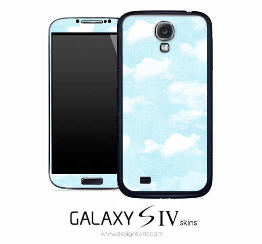 Clouds Skin for the Galaxy S4