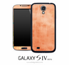Adobe Orange Skin for the Galaxy S4