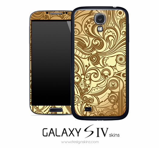 Artistic Swirl Skin for the Galaxy S4