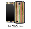 Vertical Colorful Stripe Skin for the Galaxy S4