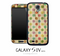 Colorful Polka Dot Skin for the Galaxy S4