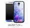 Blue & Purple Flower Skin for the Galaxy S4