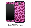 Pink Leopard Skin for the Galaxy S4