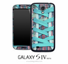 Blue Laces Skin for the Galaxy S4