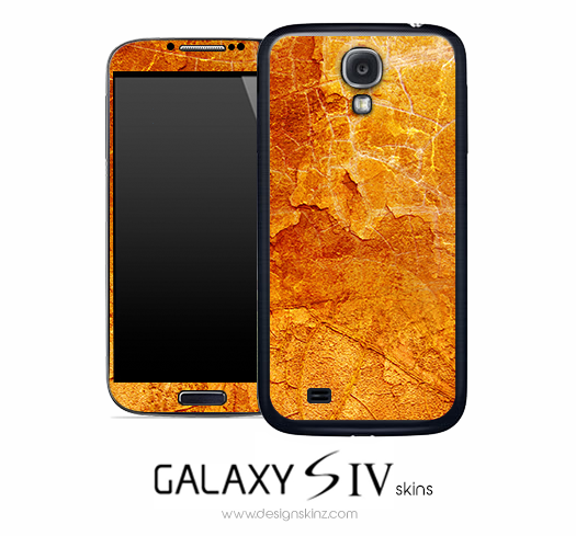 Orange Land Skin for the Galaxy S4