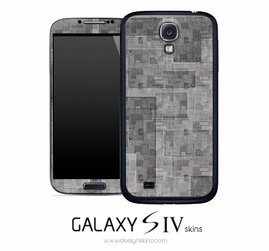 Stacked Concrete Skin for the Galaxy S4