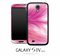 Pink Swirl Skin for the Galaxy S4