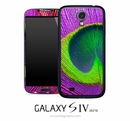 Neon Peacock Skin for the Galaxy S4