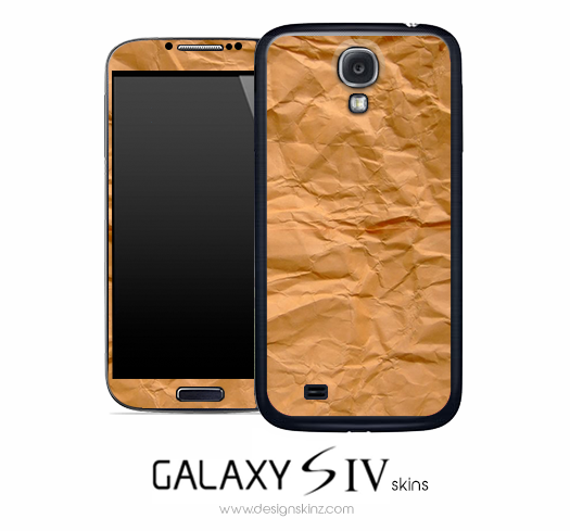 Crumpled Bag Skin for the Galaxy S4