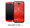 Shattered Red Skin for the Galaxy S4