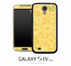 Yellow SunFlower Illustration Skin for the Galaxy S4